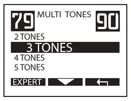 XP Deus 3 tones