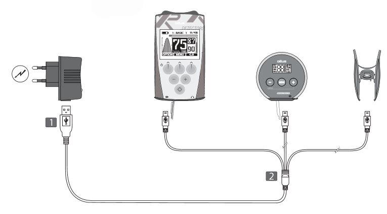 xp deus charging system
