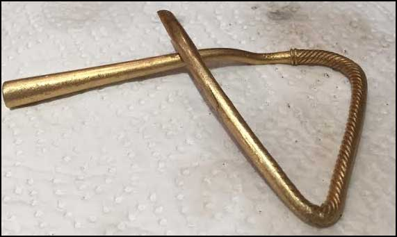 Gold Torc found with xp Deus